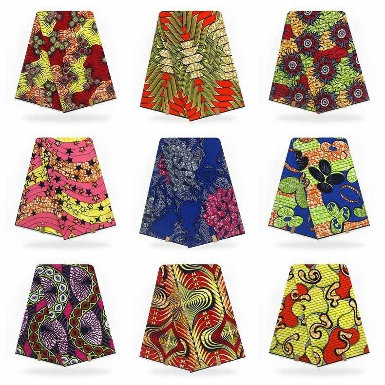 9f22f82b7 ... Ankara African Wax Print Fabric Hollandais Dutch Wax Fabric 6Yards  Veritable Super Hollandais Wax Hot African ...
