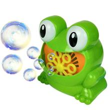 Cute Cartoon Crab Bubble Machine Frog Hippo Automatic Bubble Machine Blower Maker Kids Funny Interactive summer Outdoor Toys