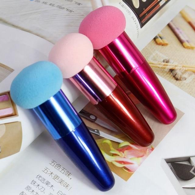 1 pcs Cream Foundation Make Up Foundation Powder Blush Face Beauty Cosmetic Makeup Brushes Liquid Sponge Brush 2