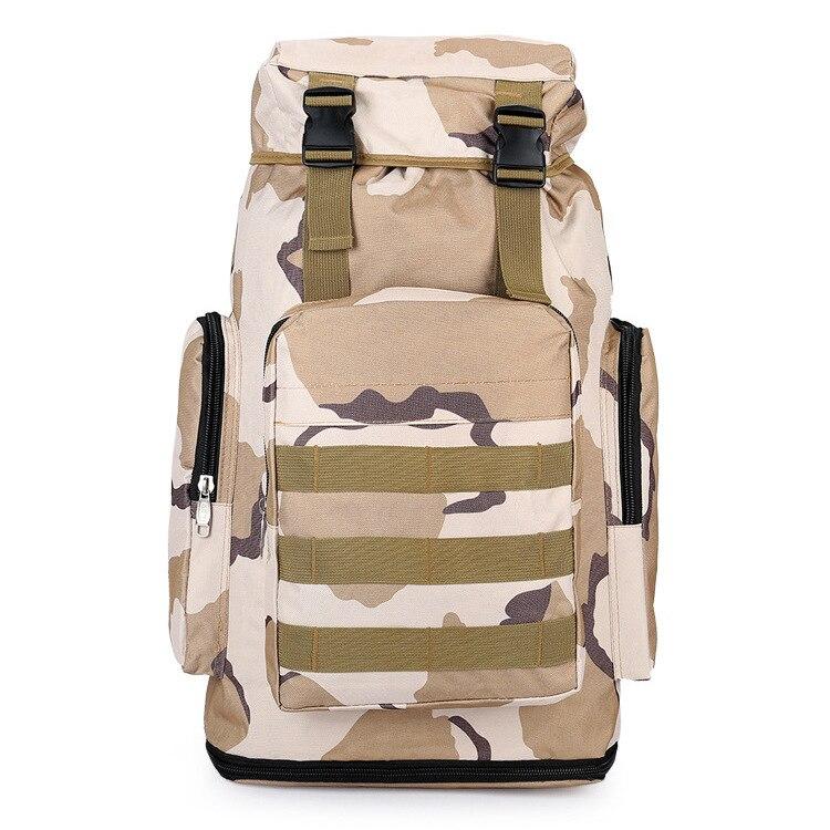 60L grande capacité hommes militaire tactique sac à dos multifonction étanche alpinisme sacs à dos unisexe sacs homme sac de voyage