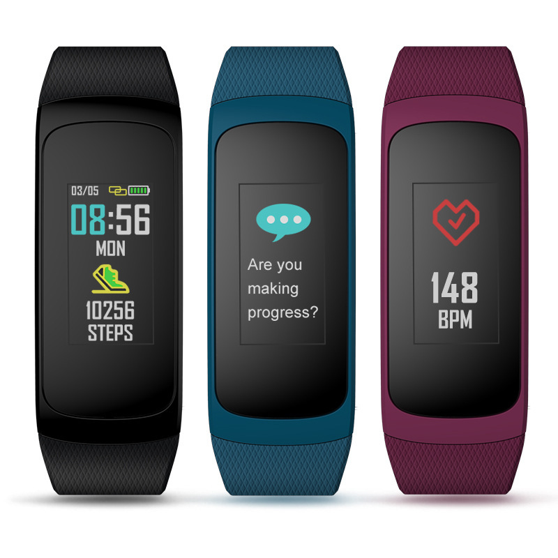Zeblaze plug C Continuous Heart Rate Color Display Battery Long Service Life And Fast Charging IP67