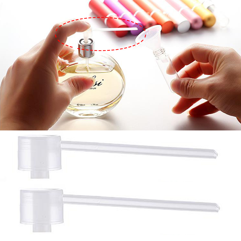 Perfume Refill Tools Cosmetic Pump High Quality Hot Sale Diffuser Funnels Dispenser Popular Portable Cosmetics Tools 10PCS/Lot