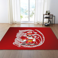 Chinese style red soft large Mat Carpet Mat Door Rugs Area Rug For Bedroom Living Room Bathroom Window Bedside