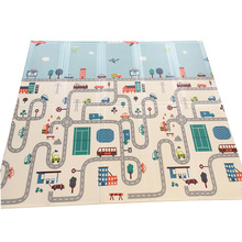 Game Blanket Toys Play-Mat Foam-Pad Climbing-Road-Pad Child Carpet Foldable Baby Thick