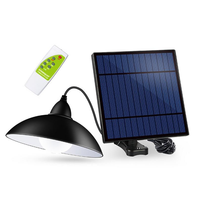 12LED Solar Street Light Chandelier Garden Road Lighting High Brightness Remote Control Solar Light