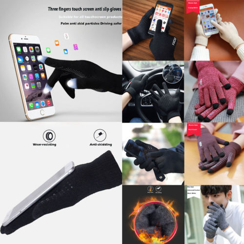 Touch Screen Gloves iPhone iPad Unisex Winter Smart Mobile Phone Christmas Gift*