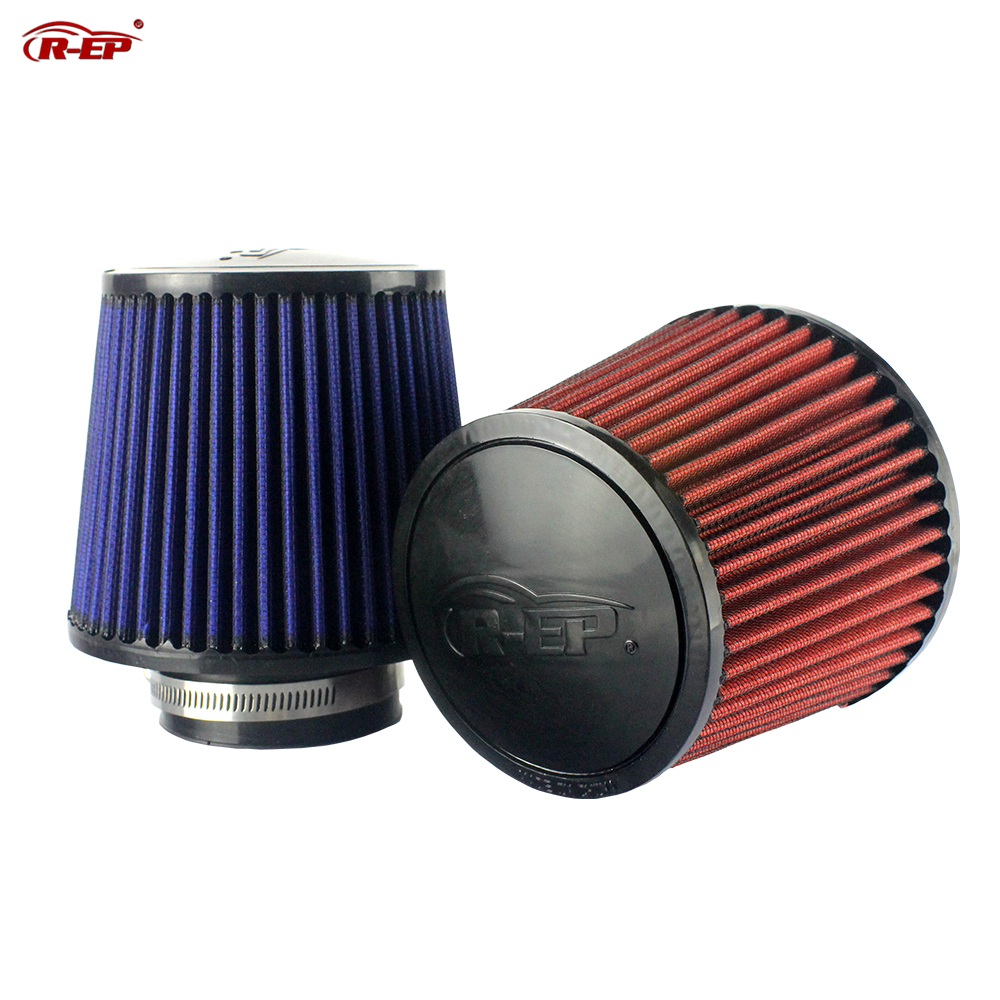 R-EP Tuning Car Universal Replacement Air Filter 3inch For Cold Air Intake High Flow 76mm Performance Breather Filters Clean Air