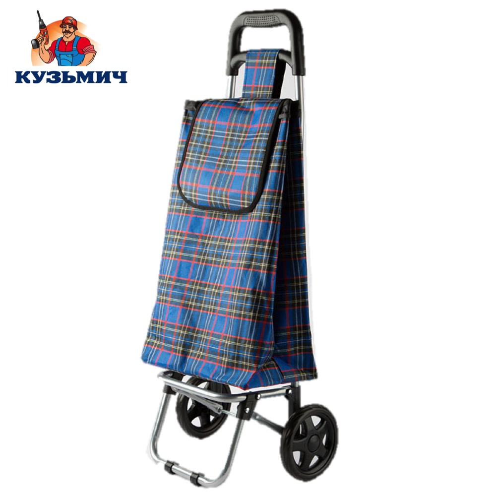 Фото - Travel Bags Kuzmich 0R-00000196 Trolley luggage TBR-15 for men and women сonvenient easy moving cargo bag pushcart handcart dtbg spring design men s bag messenger bags high quality waterproof shoulder tablet pc sleeve bag