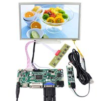 8,9 40pins LVDS разъем 1024x600 LTN098NT01 N089L6 резистивный Сенсорная панель ЖК экрана VGA, HDMI, DVI плате контроллера