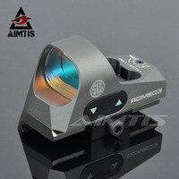 AIMTIS ROMEO3 1x25 мини рефлекторный прицел 3 MOA Dot Scope Picatinny QD Крепление тактический Красный точечный прицел для охотничьих винтовок карабины