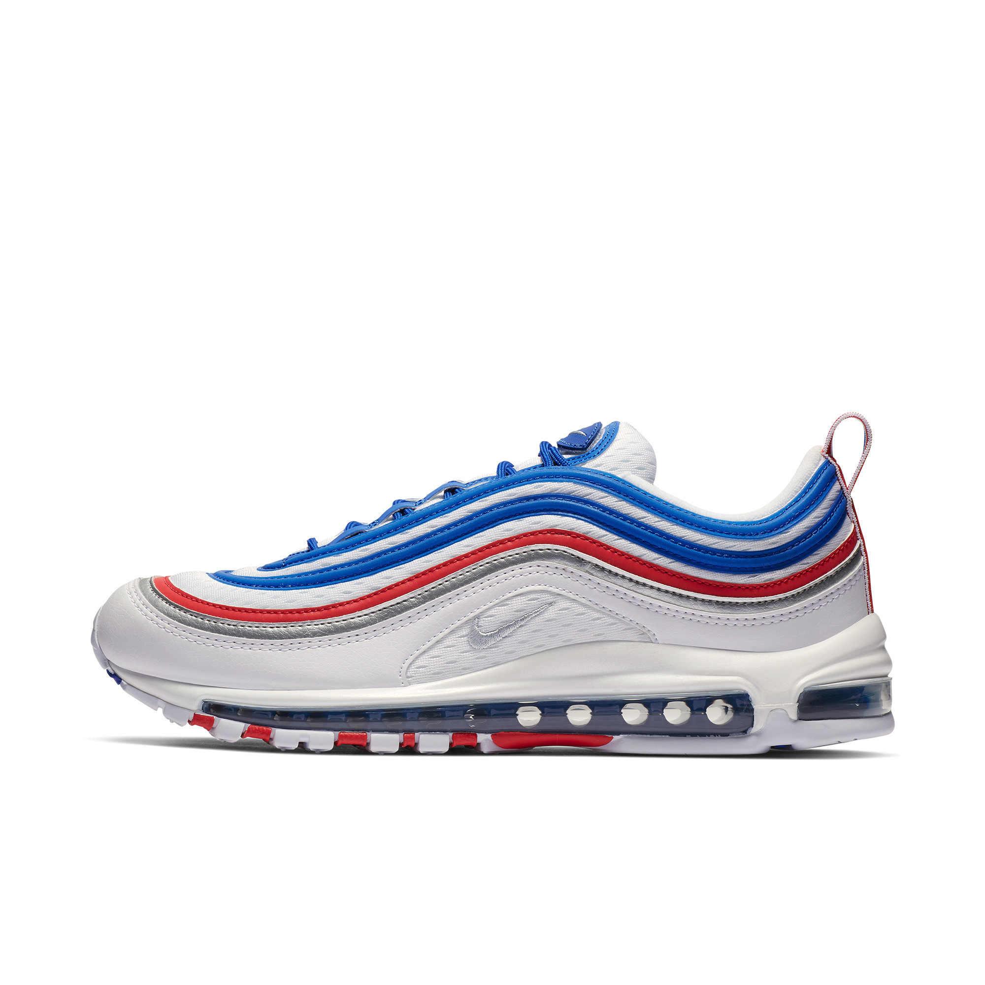 Nike Official Air Max 97 Мужская Беговая уличная спортивная обувь удобные Новое поступление нескользящие спортивные кроссовки #921826