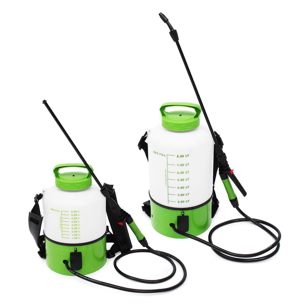 Ранцевый электрический распылитель, распылитель 5/8 л, распылитель пыли, сельскохозяйственная поливочная машина, насос для полива, садовые инструменты, принадлежности
