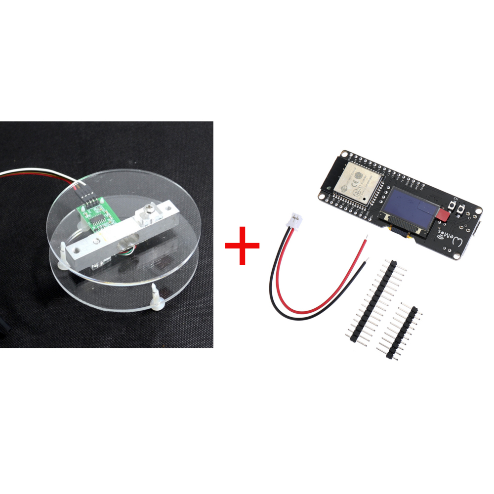 1 Set ESP32 0.96 OLED HX711 Digital Load Cell 1KG Weight Sensor Board Development Tool Kit1 Set ESP32 0.96 OLED HX711 Digital Load Cell 1KG Weight Sensor Board Development Tool Kit