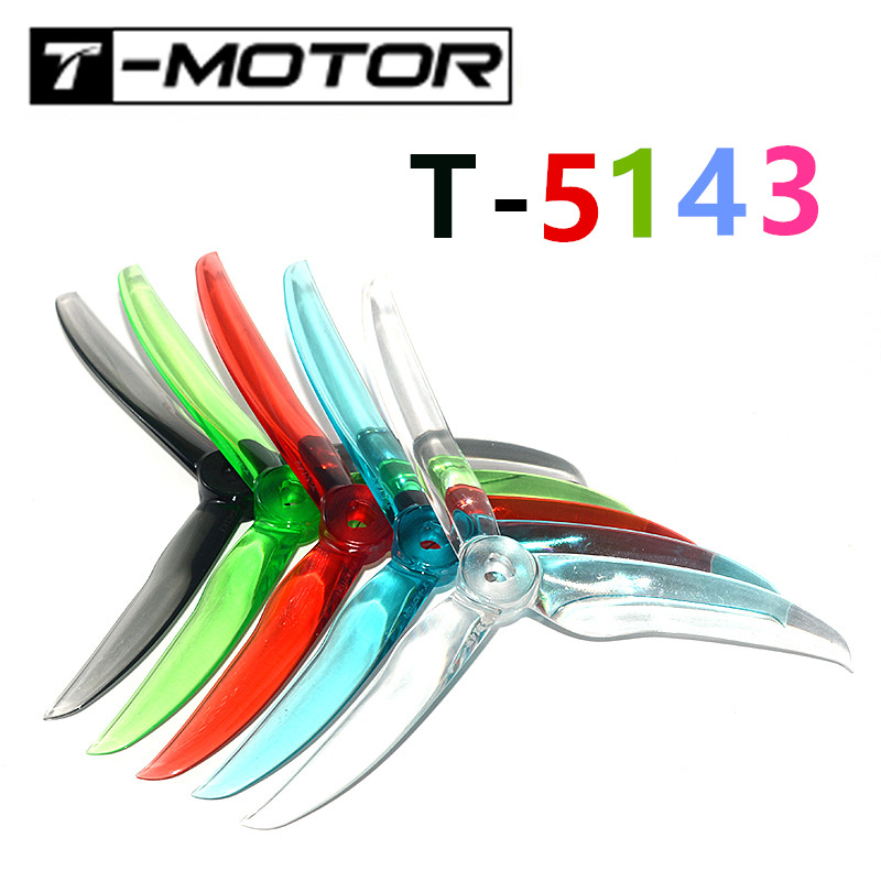 <font><b>T</b></font>-<font><b>motor</b></font> T5143 5143 5inch Propeller 3.8g Crystal Propeller Suitable <font><b>F40</b></font> PRO II F60 PRO II Brushless <font><b>Motor</b></font> for FPV Racing Drone image