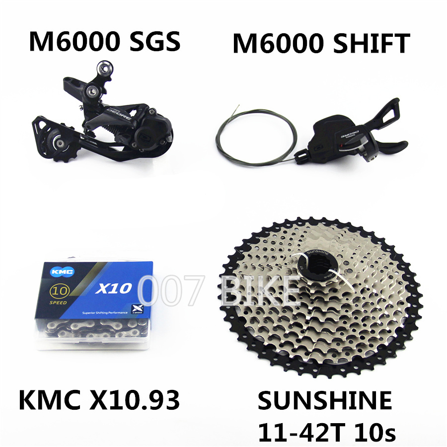 Image 4 - SHIMANO DEORE M6000 Groupset MTB Mountain Bike Groupset 1x10 