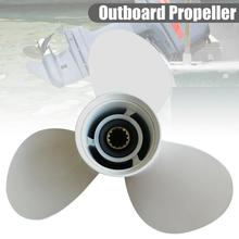 40-50HP Aluminum Alloy Outboard Propeller For Ship Motor 11 5/8 X 11-G 69W-45947-00 YH/OB 25-60HP With 13 Spline Tooth