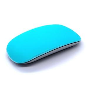 Image 4 - צבע סיליקון עכבר עור עבור קסם mouse2 עכבר מגן סרט כיסוי נגד שריטות סרט לשפשף מרגיש עבור apple קסם עכבר
