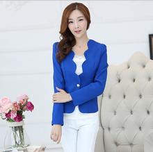 Mini Slim Fit Blazer Jacket Sim fit Office Lady Blazer