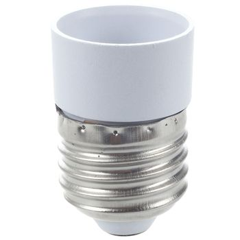 Glühlampenfassung | 100 Stücke E27 Stecker Zu E14 Buchse Basis Adapter Conversion Halter Konverter LED Licht Lampe Bulb Converter Led Birne Basis