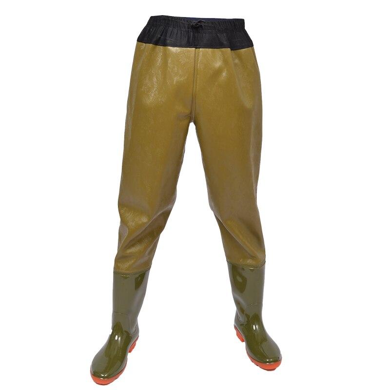Underwater Half/full Body Waterproof Fishing Pants Men Women Outdoor Hunting Fishpond Camo Breathable Wading Trousers Rain Boots