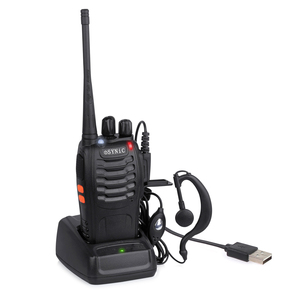 Image 3 - eSYNiC Walkie Talkie UHF 400 470MHZ 5W16CH 2 Way Radio BF 888S Portable radio Antenna With USB Charger Two Way Walkie Talkie