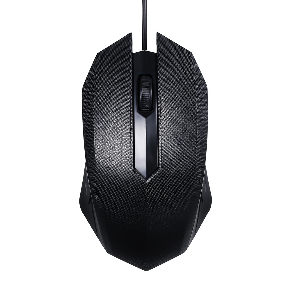Arealer Mouse 3-Button USB Optical Wired Gaming Mouse With 1.1M Cord 1600dpi Mice Compatible For Windows 7/8/10/XP MacOS