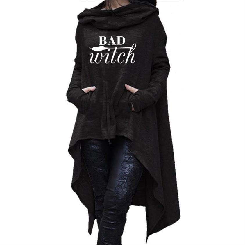 Unregelmäßige Hoodies Für Frauen Briefe Drucken Hoodies Sweatshirt Femmes Tops Sweatshirts Weibliche Frauen Baumwolle Lustige Herbst Schnalle