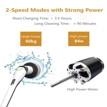 Promotion! 1Set 84W Electric Cleaning Brush Cleaner Home Sweeping Dust Sterilize Smart Washing Mopping For Car Bathroom Kitchen