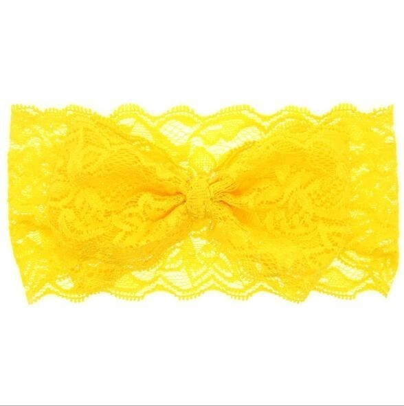 baby girl headband Infant hair accessories band bows newborn Headwear tiara headwrap hairband Gift Toddlers Lace clothes