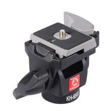 Kingjoy Kh-6500 Портативный штатив для камеры шаровая Головка из алюминиевого сплава монопод вращающийся головка для Canon Nikon sony Максимальная нагрузка