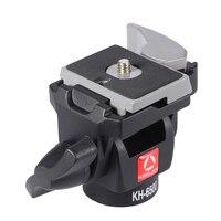 Kingjoy Kh 6500 Portable Camera Tripod Ball Head Aluminum Alloy Monopod Swivel Tilt Head For Canon Nikon Sony Max Load