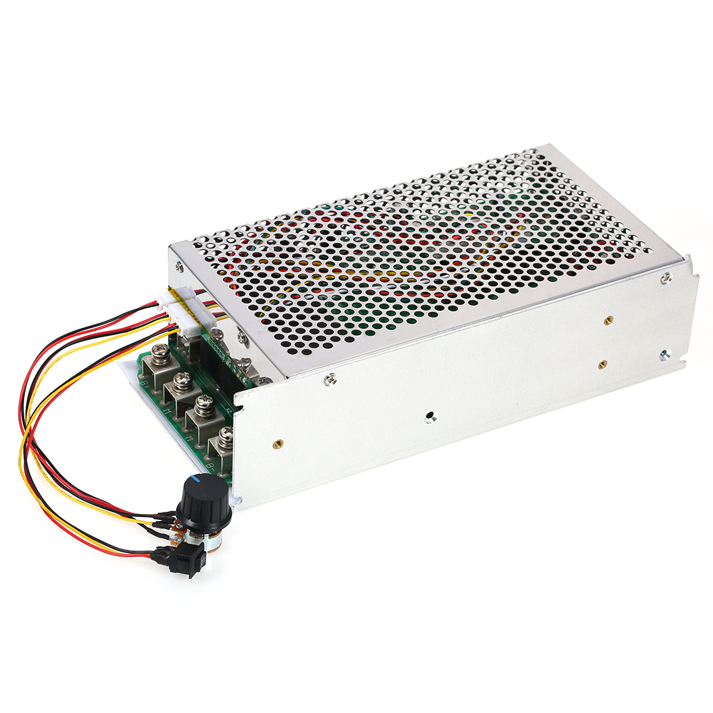DC 10V 50V 5000W 200A Programmable DC Motor Adjustable Speed Controller Regulator PWM Reversible Control