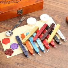 1PC Retro Sealing Wax Stick Seal Wax Stamps for Envelope Documents Wedding Invitation Decorative Stamp Wax 42#