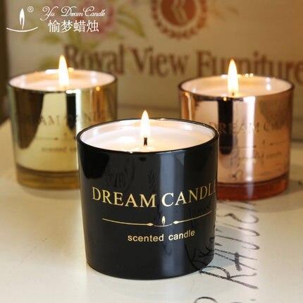 Aroma Glasses Candle Wedding Handmade Gift Decorative Candles Supplies Mumluk Romantic Candle Wachskerzen General Tools 60B1257