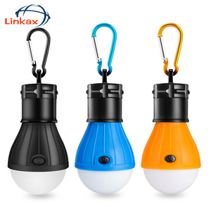 Portable Handy LED Bulb Light 3 Mode Hook Tent Lamp Outdoor Soft Emergency Tent Light Energy Saving For Camping Hunting Lighting(China)
