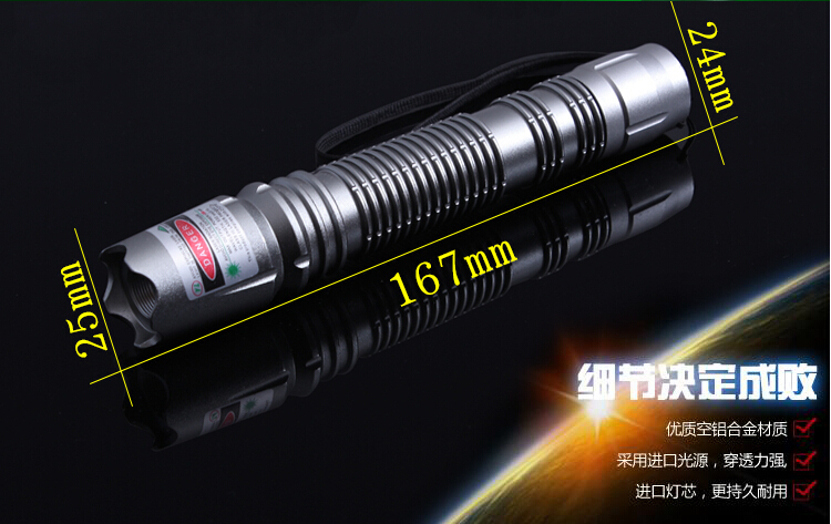 NEW Military Green laser pointer mw 100W 1000000m High power 532nm LAZER Flashlight Focusable Burning Match Burn cigarettes in Lasers from Sports Entertainment