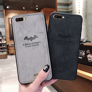 Silicone Cases Cover For iphone12 12mini 8 7 6s 6 S Plus Batman Cloth Case For iphone 8 7 XS MAX Plus 8plus 6plus XR Canvas Case