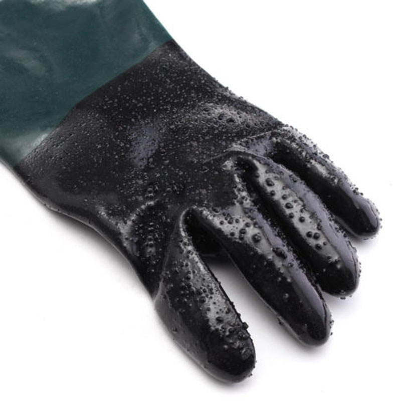 1 Pair Labour Protect Gloves For Sand Blasting Cabinet Sandblaster High Quality