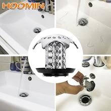 HOOMIN Gadgets ducha tapa del desagüe del fregadero baño tapón ducha desagüe filtro del fregadero evita que el cabello se obstruya
