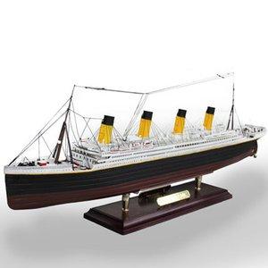 1:550 DIY сборка Титаник литья под давлением модель корабля 3D головоломка интеллектуальное развитие развивающие игрушки подарок для детей, мал...