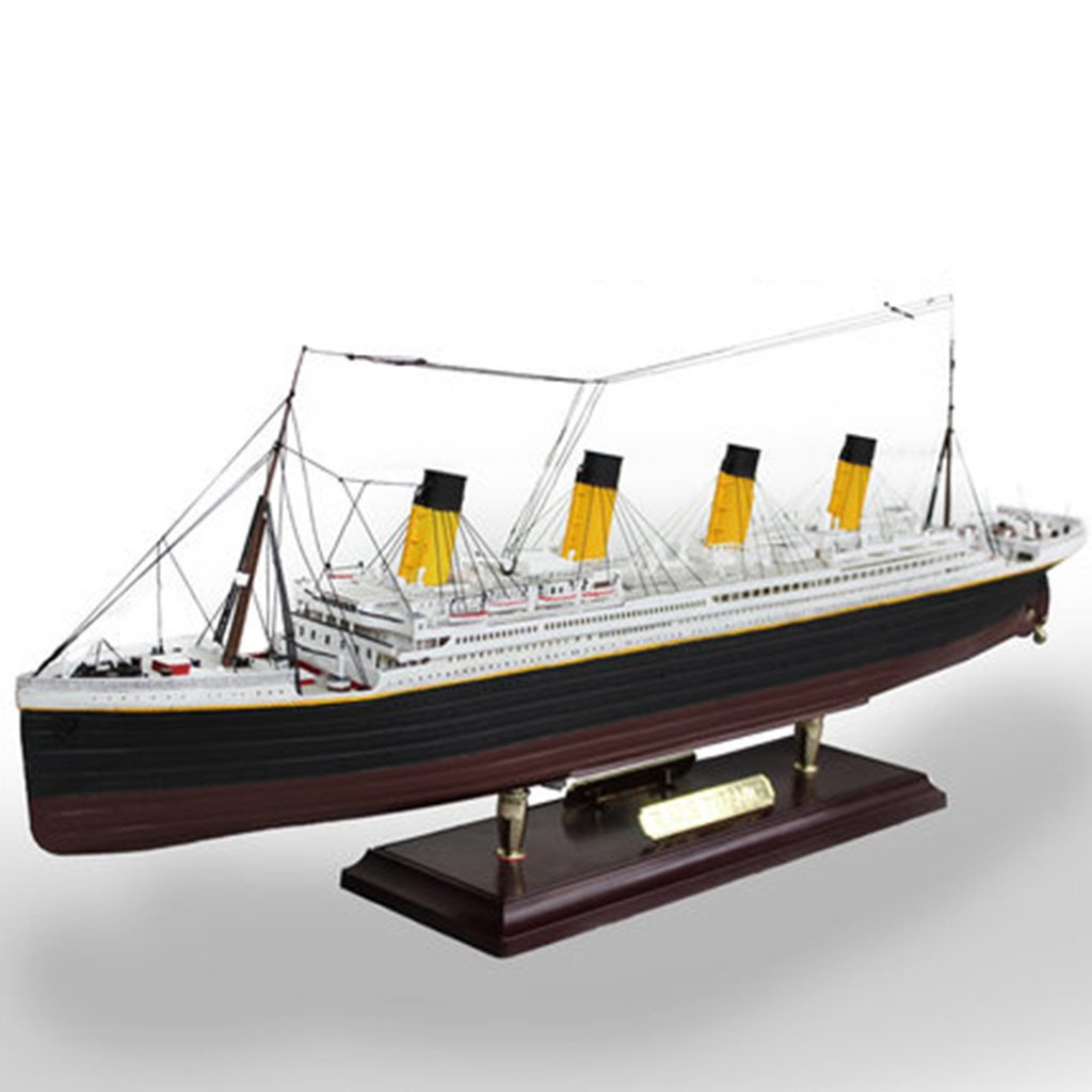 1:550 DIY Assembly Titanic Diecast Ship Model 3D Puzzle Intellectual Development Educational Toys Gift For Children Kids Toddler