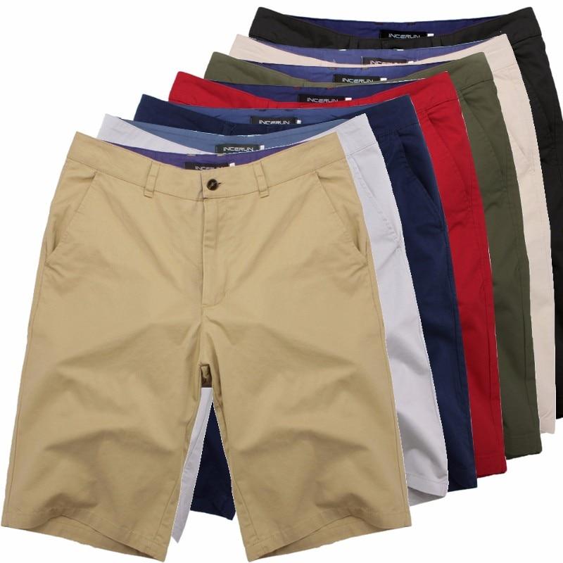 2019 décontracté été Shorts hommes coton genou longueur chinos shorts Vintage décontracté hommes Shorts mode masculina grande grande taille 44
