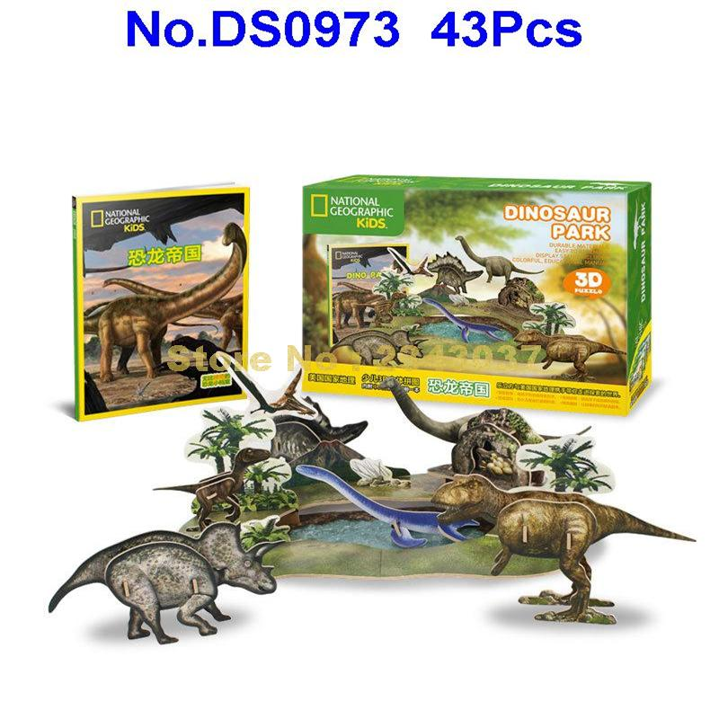 Cubic Fun Puzzles & Geduldspiele 3D Puzzle Triceratops Dinosaurier