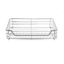 Platos Cestas Para Organizar Dish Drainer Pantry Organizador Stainless Steel Cuisine Organizer Cocina Kitchen Cabinet Basket