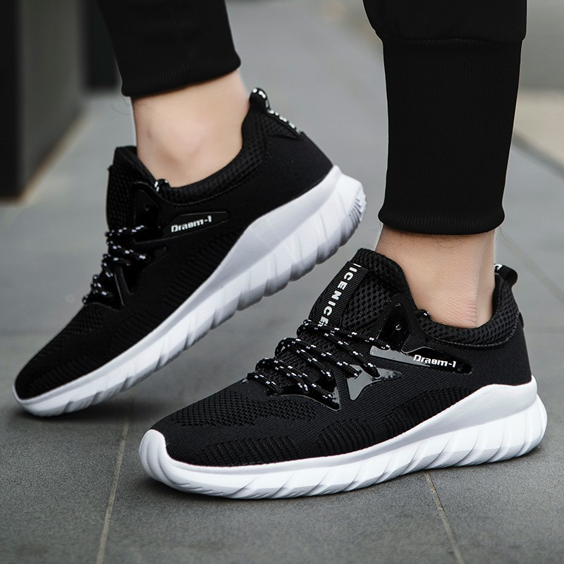 Popular New Men Shoes Ankle Boots Fashion Antiskid Wear-resisting Rubber Sole Casual Colorblock canvas shoes 39-47 Male Sneakers