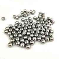 1000 шт 2,38 мм хромированные стальные шариковые подшипники AISI 52100 высокого качества