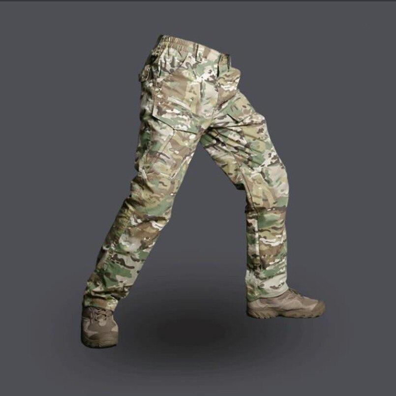 2019 Militare Tattico Di Campeggio Del Camuffamento Pantaloni Da Trekking All'aria Aperta Impermeabile Rip-stop Quick Dry Cargo Pantaloni Swat Pantaloni Da Combattimento Adottare La Tecnologia Avanzata