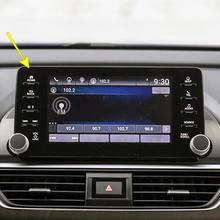 Автомобильная навигация с закаленным стеклом для Honda Accord 8-дюймовая автомобильная пленка Accord с 8 отверстиями