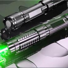Мощный! Военная Униформа 500000 м 500 Вт 532nm Зеленая лазерная указка указатель ожог матч свеча горит сигареты нечестивых лазер факел+ очки