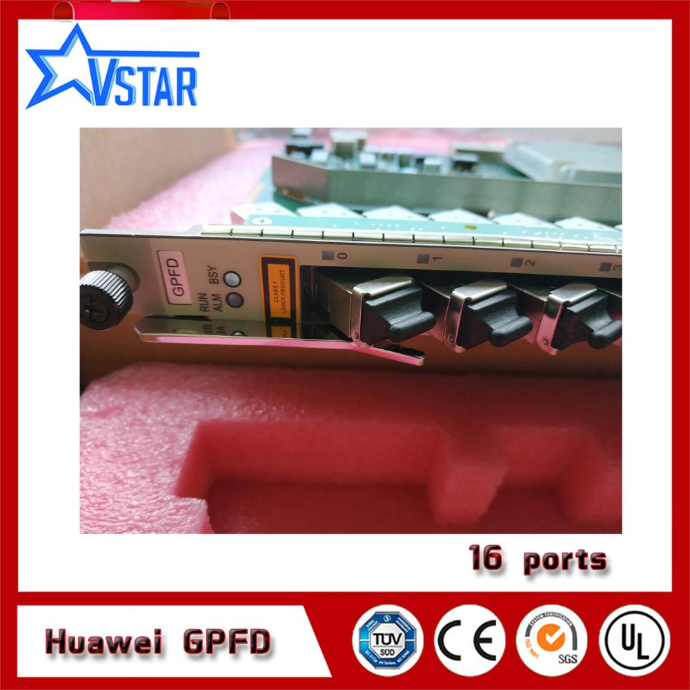 Impartial Original Hua Wei Gpfd 16 Port Gpon Card For Ma5680t Ma5600t Or Ma5683t Olt Gpbd Board With 16 Sfp Modules Be Shrewd In Money Matters Cellphones & Telecommunications